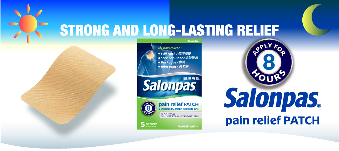 STRONG AND LONG-LASTING RELIEF